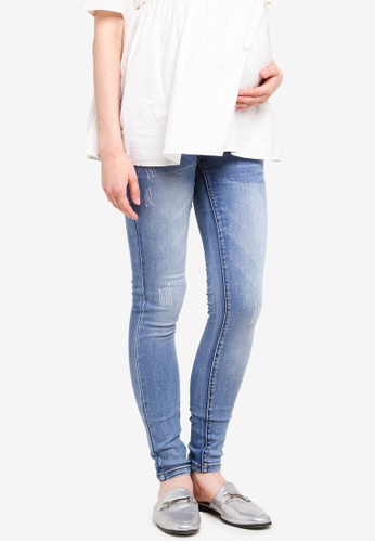 Mama.licious blue Sidney Light Blue Jeans 17FB4AA0161E02GS_1