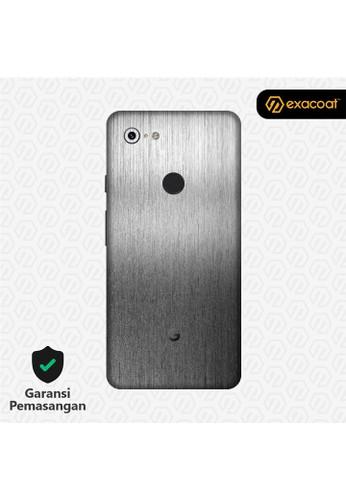 Exacoat Google Pixel 3 3M Skins Titanium Onyx - Cut Only C84EBESA6D8807GS_1