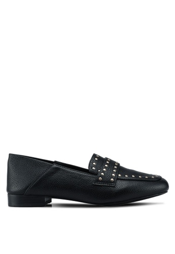Miss KG black Black Loafers 343F7SH5BF81CDGS_1