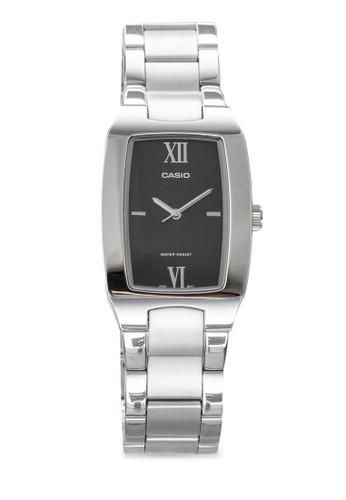 General 方框男士數字esprit 工作鍊錶, 錶類, 飾品配件