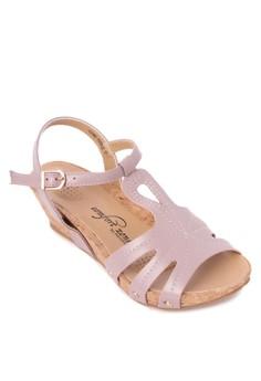 Gail Wedge Sandals