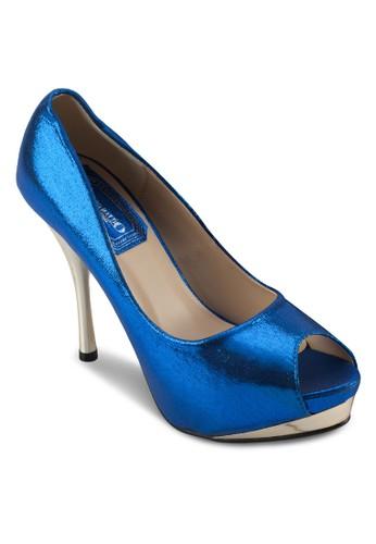 亮面魚口派對高跟鞋, 女鞋, 厚底esprit hk分店鞋