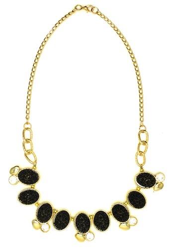 Istana Accessories Cicilya Crystal Plastic Fashion Necklace