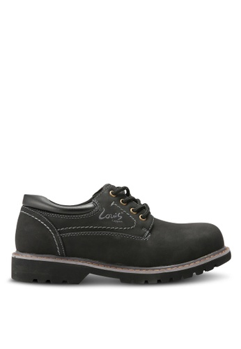 Louis Cuppers black Casual Outdoor Shoes LO977SH0RKC1MY_1