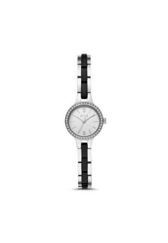 ELLE silver ELLE Alesia Three-Hand Stainless Steel Watch ELL21039 9FED8ACA8B9F40GS_1