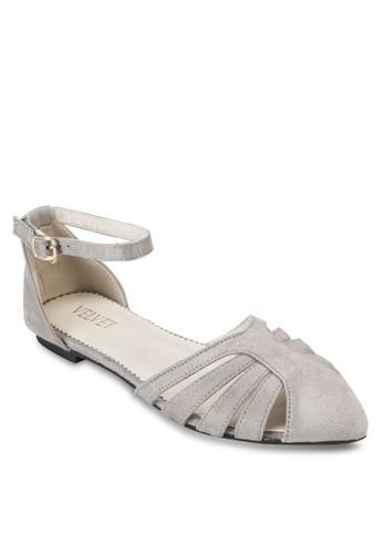 Faith 多帶包跟繞踝平底鞋、 女鞋、 鞋VelvetFaith多帶包跟繞踝平底鞋最新折價