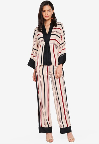Lubna multi Straight Printed Co-Ord Set 76D8CAA5C872E8GS_1