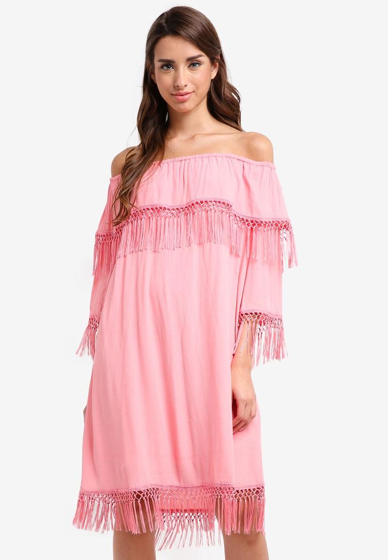 Ladies Ladies Glamorous Coral Glamorous Dress Dress Ladies Dress Coral qXxwIpvzT