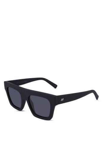 Le Specs black Subdimension Sunglasses 76E29GLC6537EBGS_1