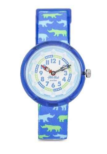 Flik Flak blue Rhinoferoce Watch A7AA8KC3A3311BGS_1