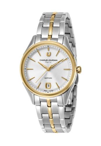 Charles Jourdan silver Charles Jourdan Ladies Watch Elegance Quartz CJ1054-2112 80F36AC7C0928DGS_1