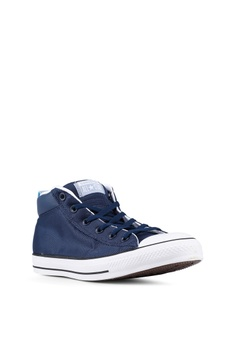 97e6d8ee8eac Converse Chuck Taylor All Star Street Uniform Mid Sneakers RM 299.90. Sizes  7 8 9 10