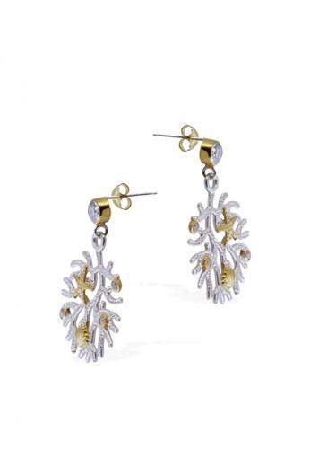 Sunaka Jewelry silver Perhiasan Wanita Perak Asli - Anting Koleksi Coral Reef B96F8AC7220224GS_1
