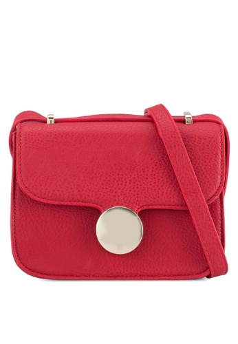 Vero Moda red Runa Crossbody Bag VE975AC0ST41MY_1