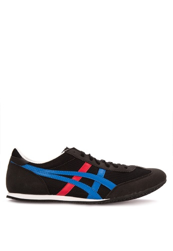 Onitsuka Tiger black and multi Machu Racer Lace-up Sneakers 79294SHFC2EB47GS_1