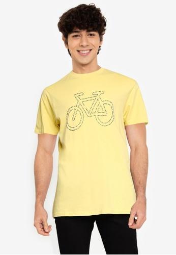 Springfield yellow Bike T-Shirt B8464AAD3AAF26GS_1