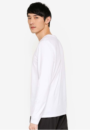 2072a12b4a480 Buy Calvin Klein Long Sleeve Institutional Logo Slim Tee - Calvin Klein  Jeans Online