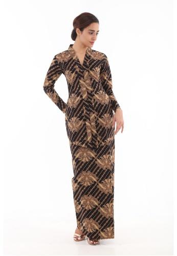 Amar Amran black Kebaya Batik Classic 7B80CAAFC10106GS_1