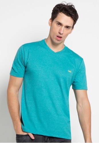 CARVIL blue Tshirt Man Vitman-Tos CA566AA0U59EID_1