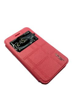 Alibaba Leather Case with Front Preview for Samsung Galaxy J1