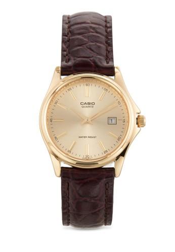 LTP-1183Q-9ADF 真皮圓錶esprit 折扣, 錶類, 飾品配件