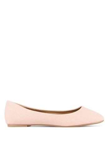 Rubi 粉紅色 Britt Ballet Flats RU506SH0S4URMY_1