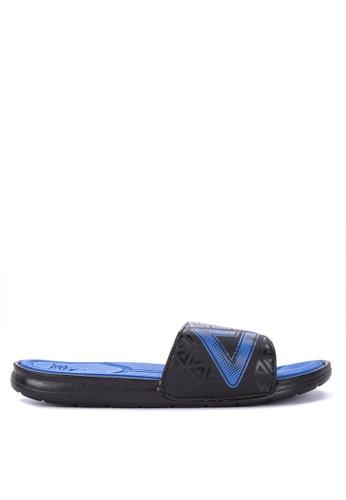 PEAK blue Icon Sports Slides Sandals 6BE18SH4F085B6GS_1