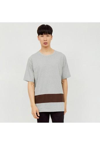 M231 M231 T-Shirt Combination Pendek Abu 2161B C9EEBAA4245388GS_1