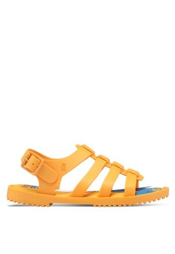 Melissa 黃色 Melissa Flox Disney Ad 涼鞋 91122SH8963CA0GS_1
