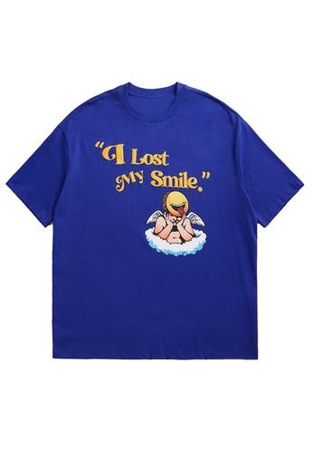 Twenty Eight Shoes Foam Printed Short T-shirt 1531S21 5C0BEAAA8A9C78GS_1
