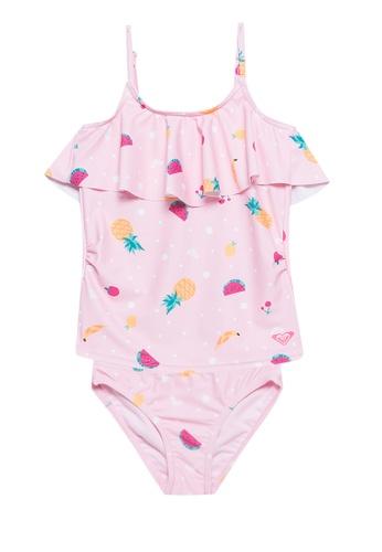 Roxy Little Girls Safari 2 Piece Swimsuit