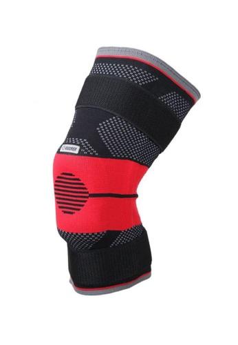 RIGORER black and red Rigorer Upgraded Gel-Padded Knee Brace w/ Steel Stays [KB009] EFC70AC2A26329GS_1