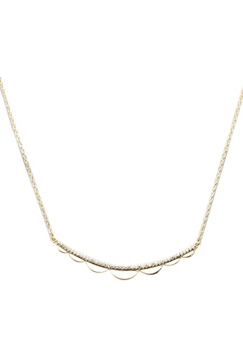 kate spade new york gold Delicate Pave Necklace B0EE2ACB7996CDGS_1