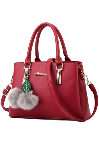 TCWK red Ladies Shoulder Bag TC258AC96WRVMY_1