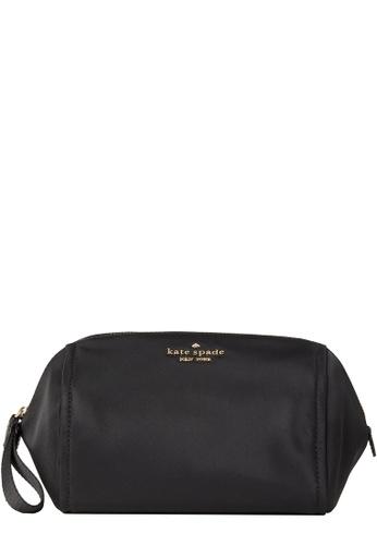 Kate Spade black Kate Spade Chelsea Medium Cosmetic Pouch in Black 1FEF1AC6560239GS_1