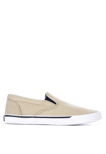 5280cab383b1f Shop Sperry Striper II Slip On Sneakers Online on ZALORA Philippines