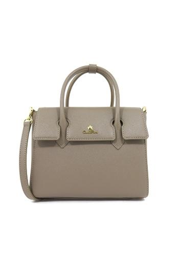 Carlo Rino beige Carlo Rino 0304141A-002-45 Top-handle bag (Taupe) 3A496ACE2AA03BGS_1