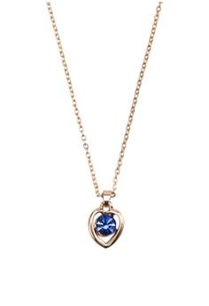Carol 寶石心形吊飾項鍊