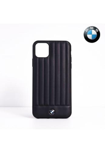 "BMW n/a BMW - Leather Lines Back Case / Casing IPhone 11 Pro 5.8"" - Dark Navy C18C0ES97CD1FDGS_1"