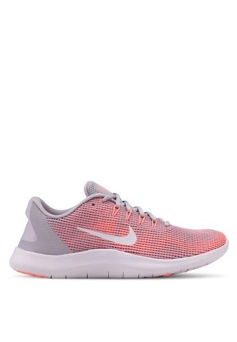 Nike grey Nike Flex RN 2018 Shoes D0C38SH87F5B1BGS_1