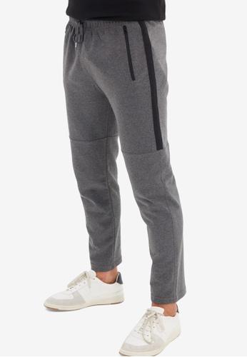 Trendyol grey Essential Sweatpants 6C15FAA3295292GS_1