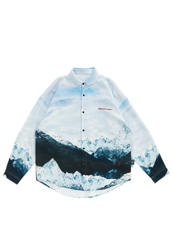 Twenty Eight Shoes Stylish Printed Long Sleeve Shirt 2120W20 42EF4AA7448CC1GS_1