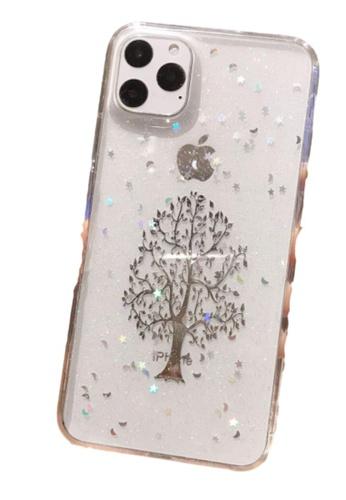 Kings Collection silver Glitter Silver Tree iPhone 11 Pro Case (KCMCL2180) E4C24ACA53E756GS_1