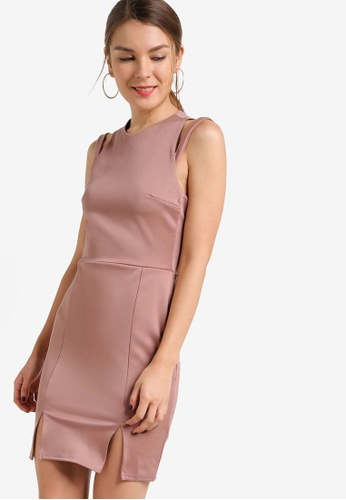 Miss Selfridge pink Pink Strappy Dress MI665AA19NUEMY_1