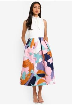 12e14db09afe2 CLOSET pink Closet Gold Pleated Skirt Dress DEF5BAA121179CGS 1
