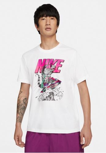 Nike white Men's Sportswear Beach Jet Ski Tee BFC5FAA93EEE53GS_1