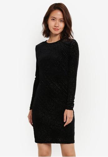 Selected Femme black SFMILA LS DRESS SE157AA0S5QQMY_1