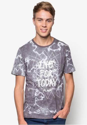 圖文棉質T 恤, 服飾, 印圖Tesprit 鞋恤