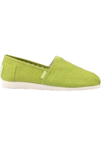 paperplanes green Paperplanes-1196 Fashion Casual Low Top Easy Slip-Ons Shoes US Women Size PA355SH23QBCSG_1