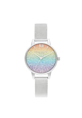 Olivia Burton silver Olivia Burton Rainbow Silver  Women's Watch (OB16GD69) 88FF6AC1409752GS_1